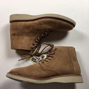 c001c9267de Toms Mens Porter Toffee Brown Desert Boots Sz 9 NWT
